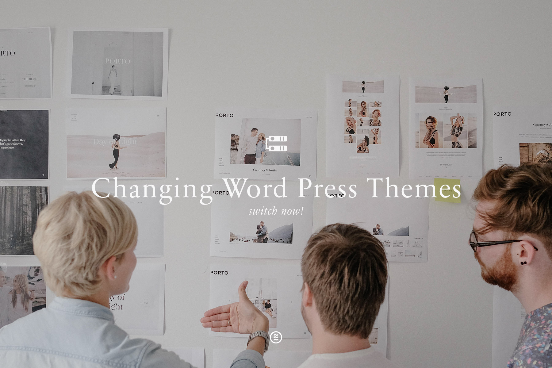 changing wordpress themes