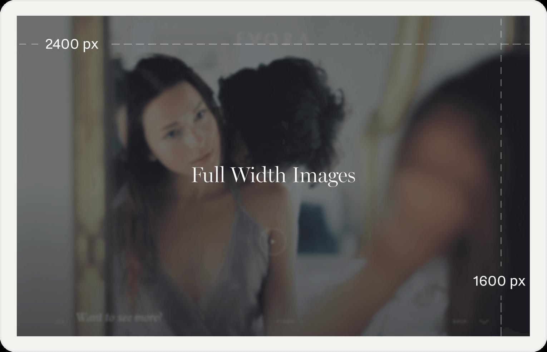 full width image sizes