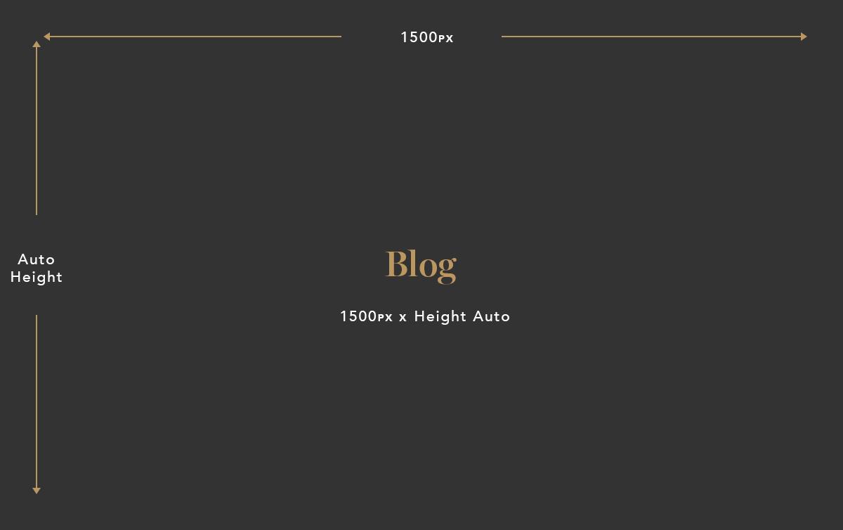 Blog image size