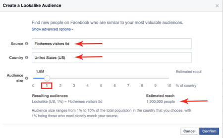 flothemes, facebook ads manager, lookalike audiences