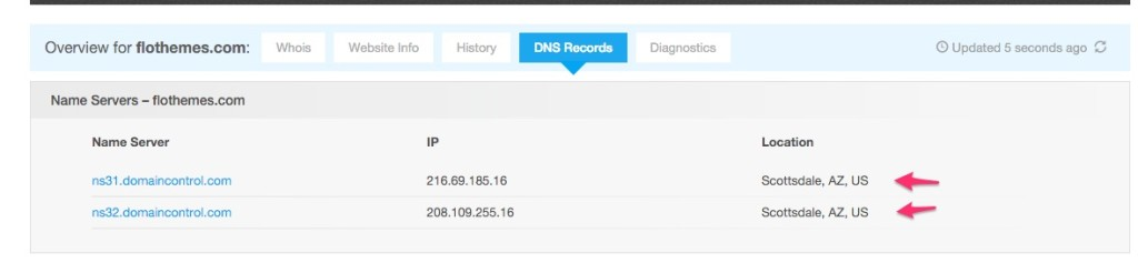 how to find out what dns server you are using