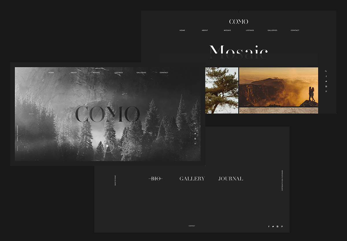 Como - Clean, Bold and Modern Theme for your site