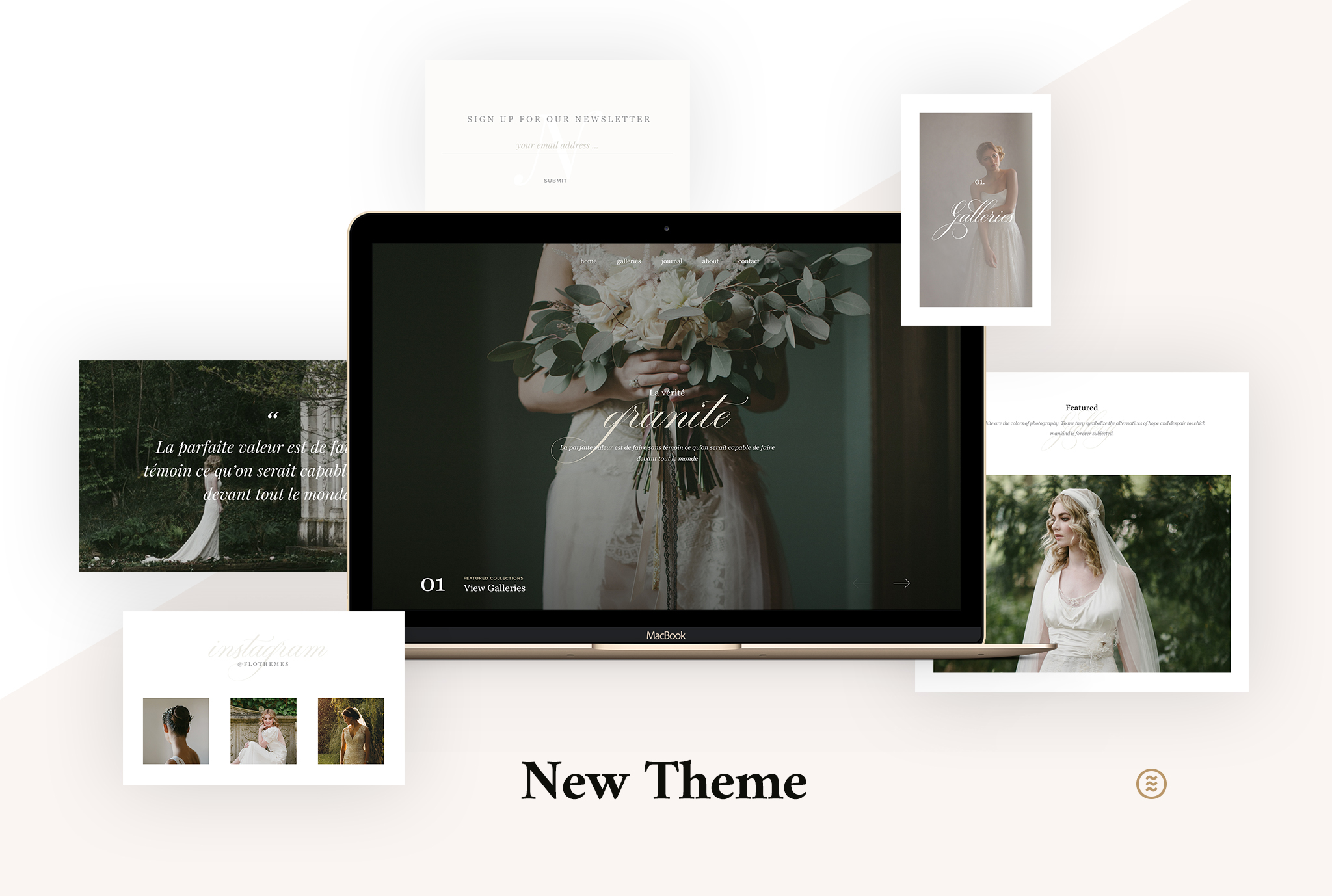 Granite - A Minimalistic Fine Art WordPress Theme