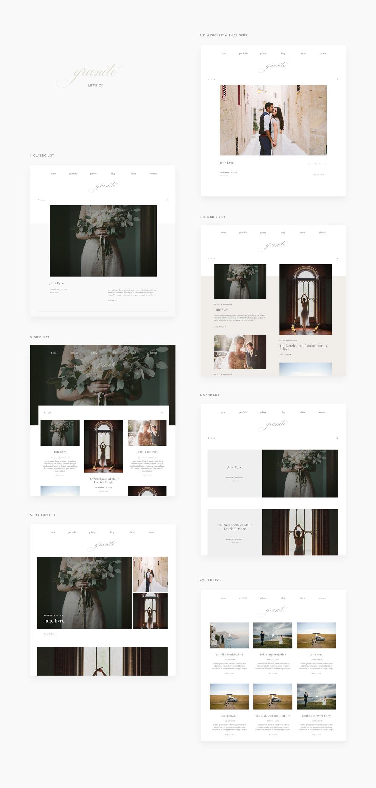 grannite-fine-art-minimalistic-theme