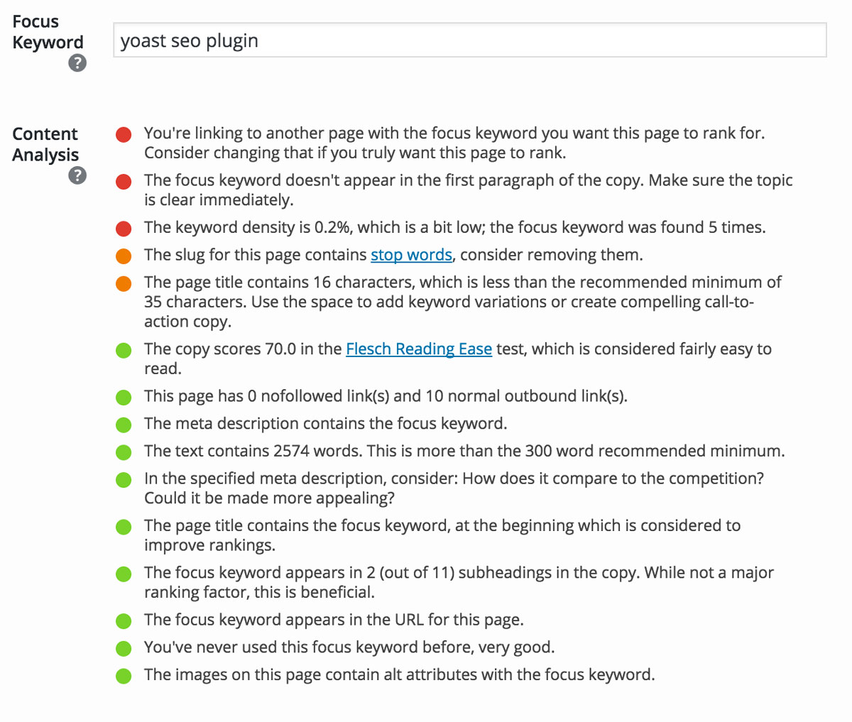 guide yoast seo plugin
