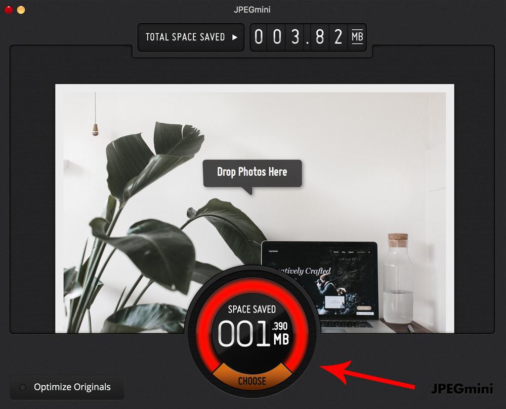 JPEGmini for a fast website