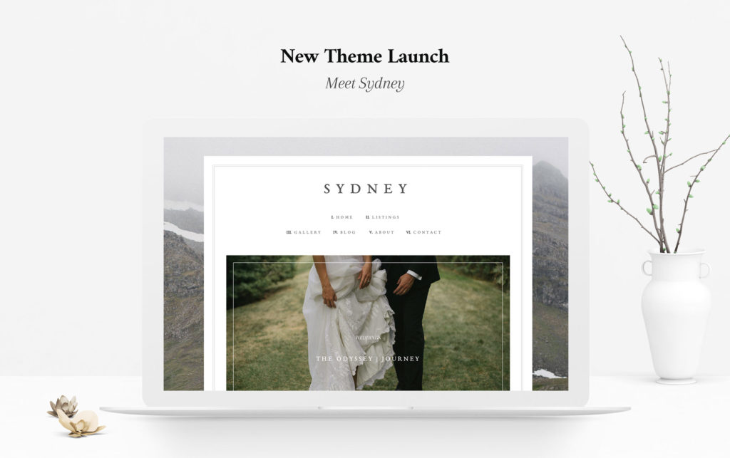 Sydney classic design for your Portfolio & Blog website