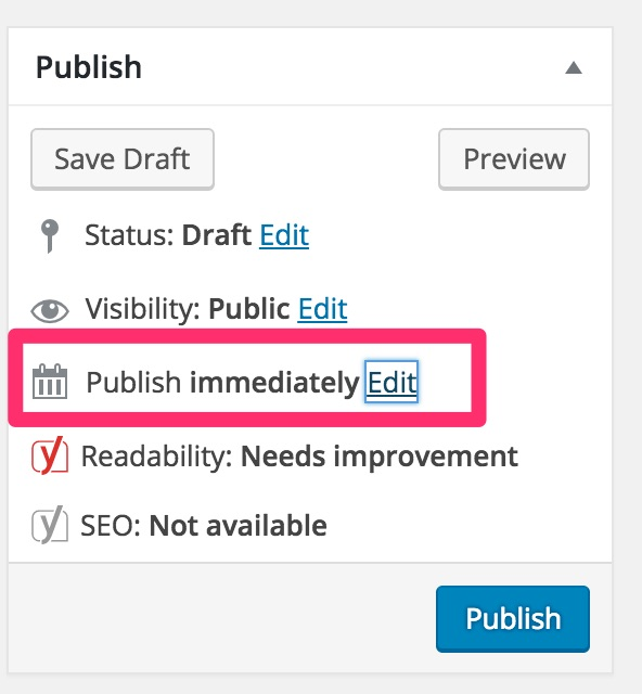 wordpress-publish-edit