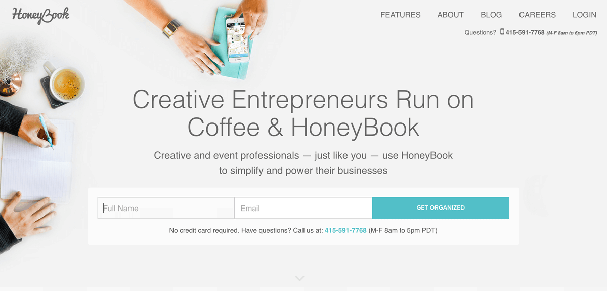 honeybook - studio management software for photographers