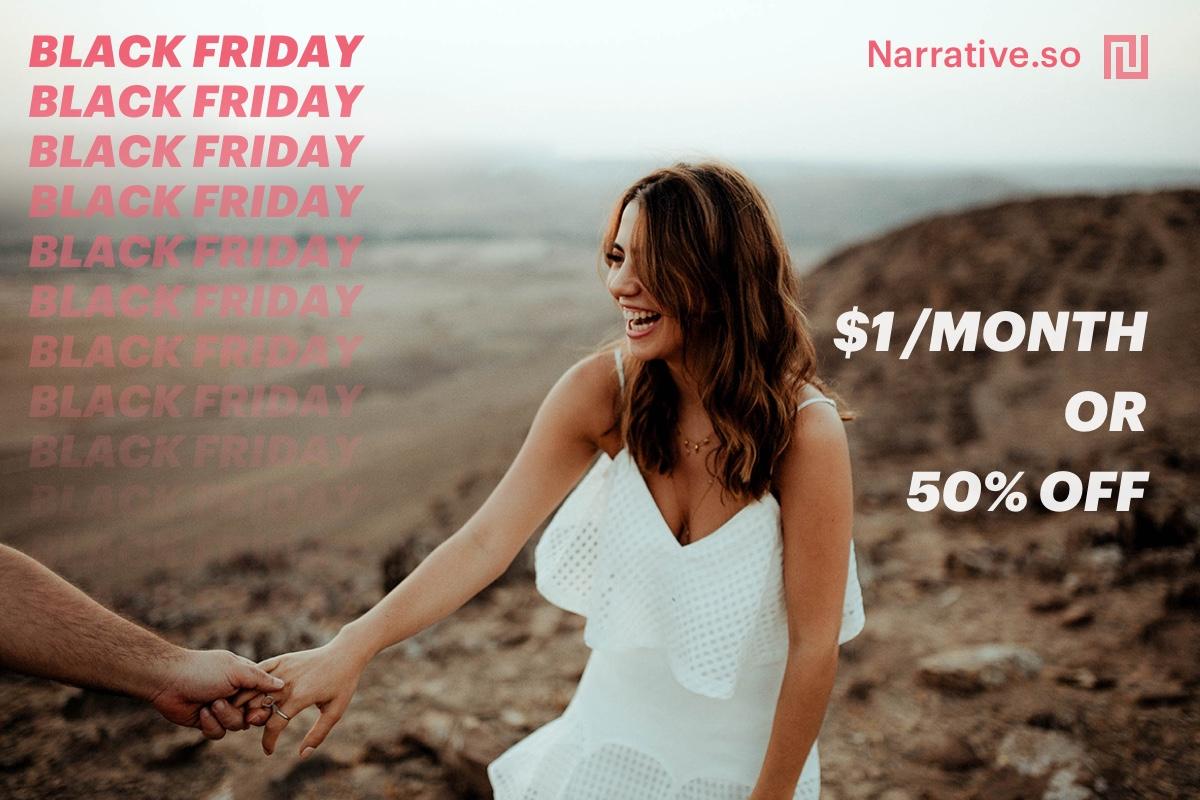 best Black Friday Deals for photographers - narrative