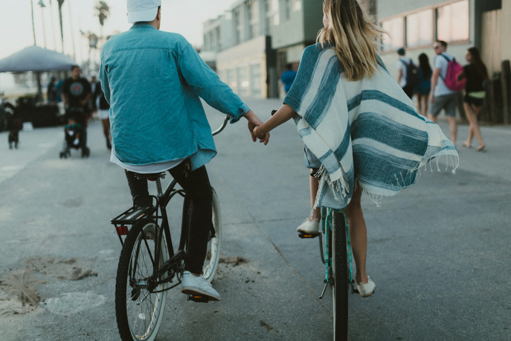 Katch Silva Presets. Understanding How Presets Work. couple photography, bicycle, Katch 4