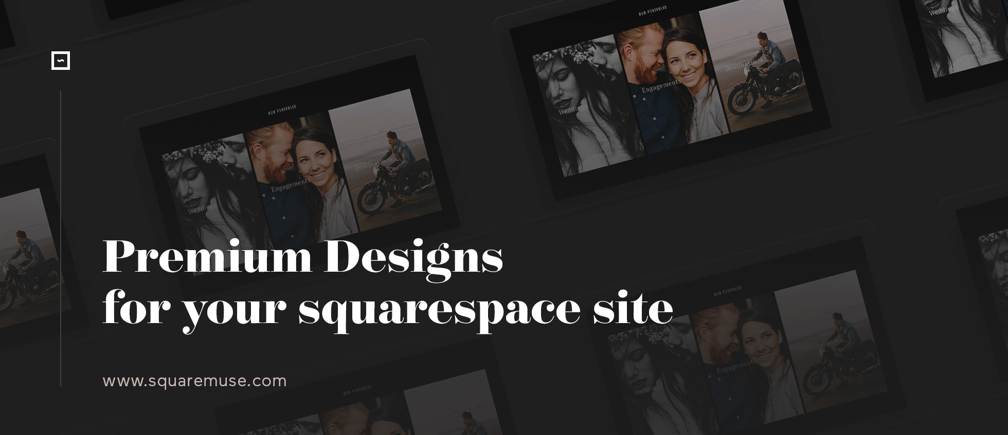 premium designs for squarespace