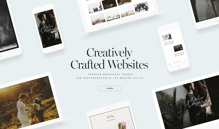 flothemes stunning wordpress themes for photographers 2018