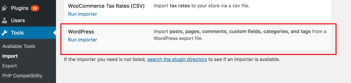 Move from Squarespace to WordPress: Exporting & Importing Content