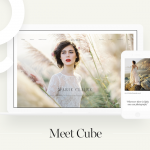 Cube: Second Style Kit To Showcase Your Portfolio Online