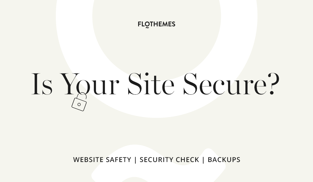 How to Secure Your WordPress Website In 12 Steps - Flothemes
