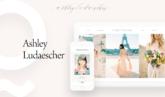 Custom Website Design: Ashley Ludaescher Photography