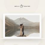 Custom Website Design: Melli & Shayne