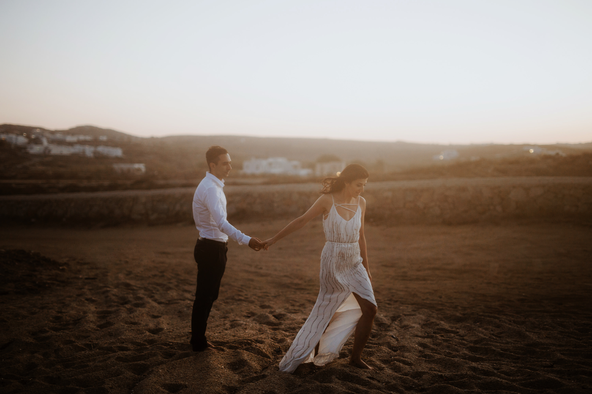 Danilo & Sharon: How to Stop Seeking Perfection in Photography, Serbia, couple shoot, wedding , golden hour, field