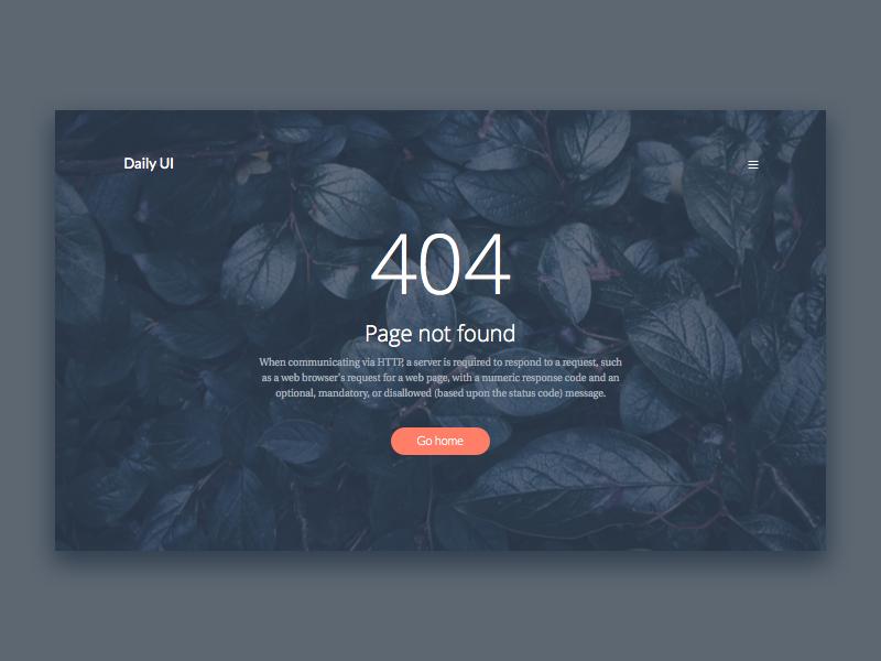 best 404 page design Roman Menshikov