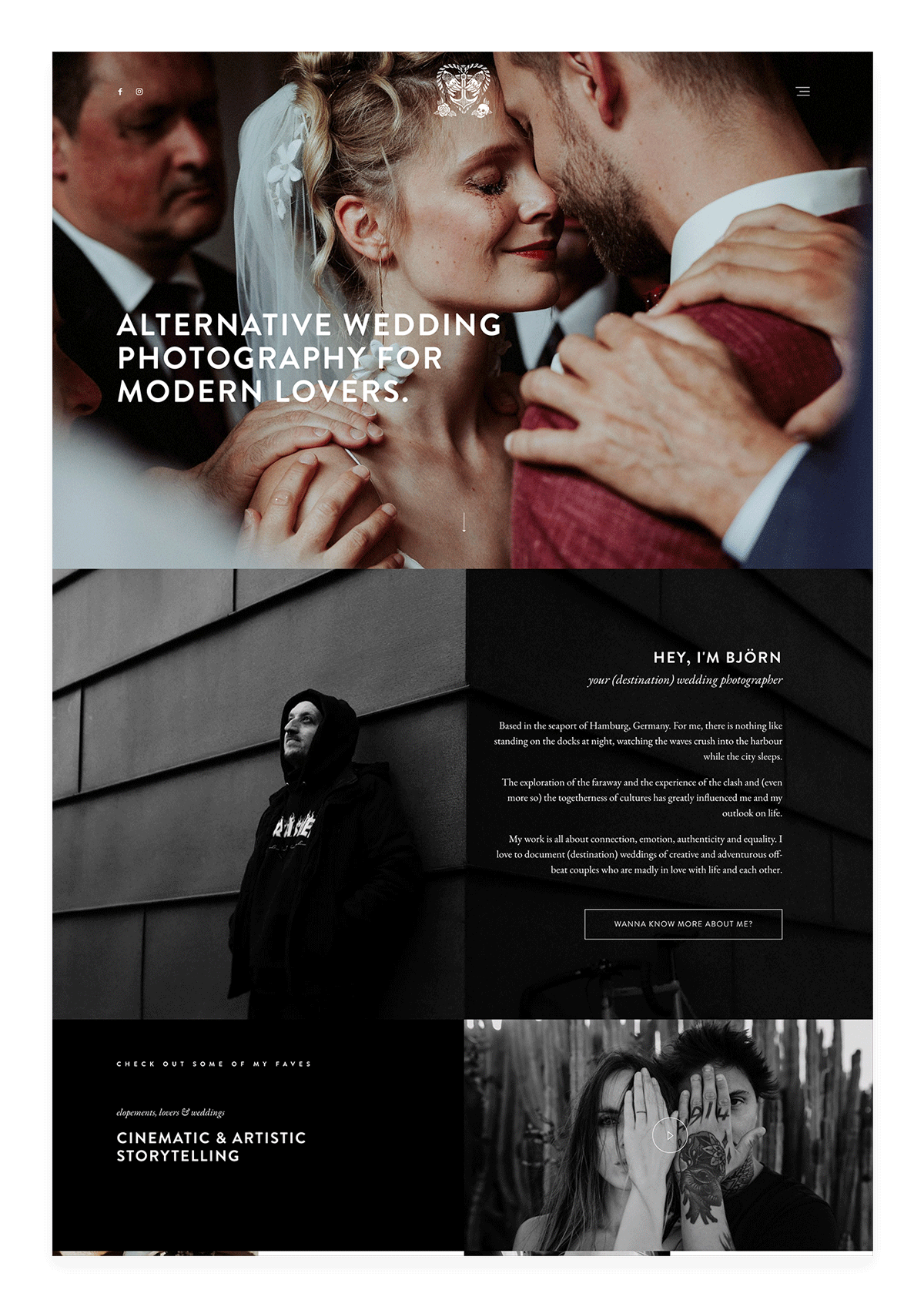 inspirational-photography-websites---alternative-wedding-photography---hafenliebe-weddings