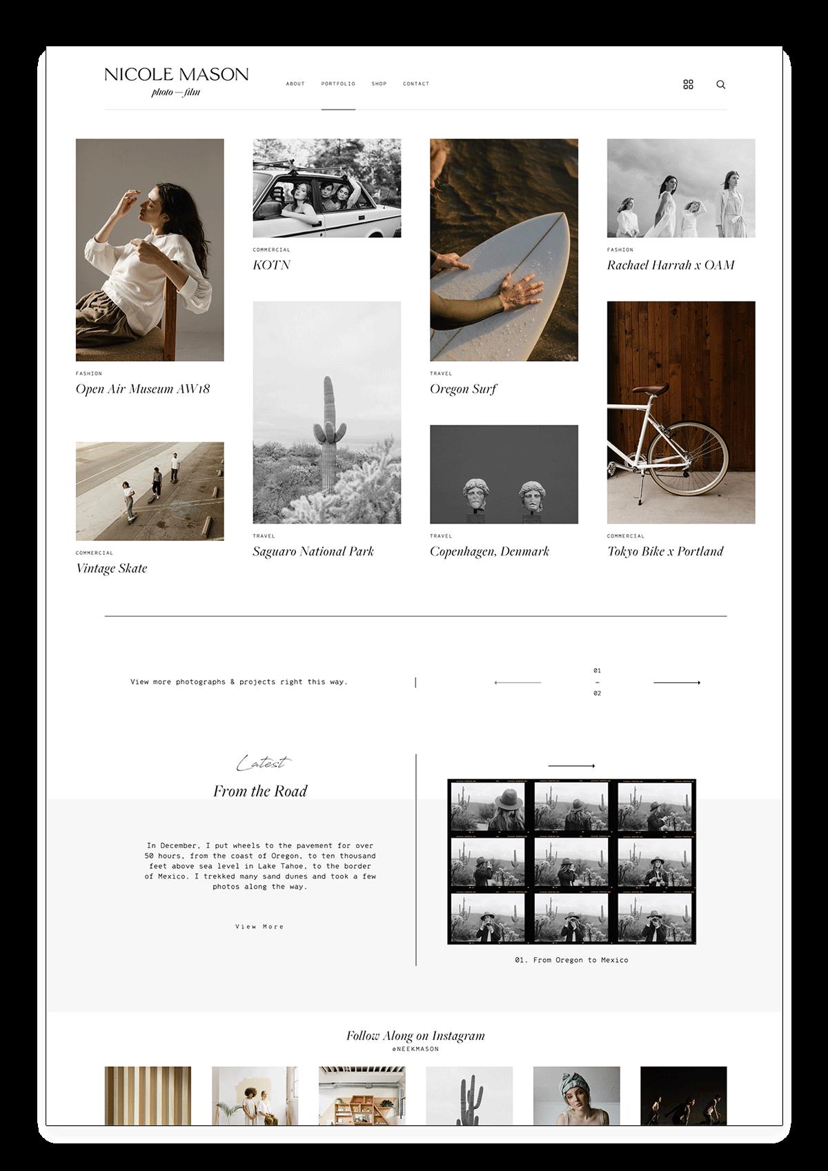 14 Most Inspirational Photography Websites - Flothemes