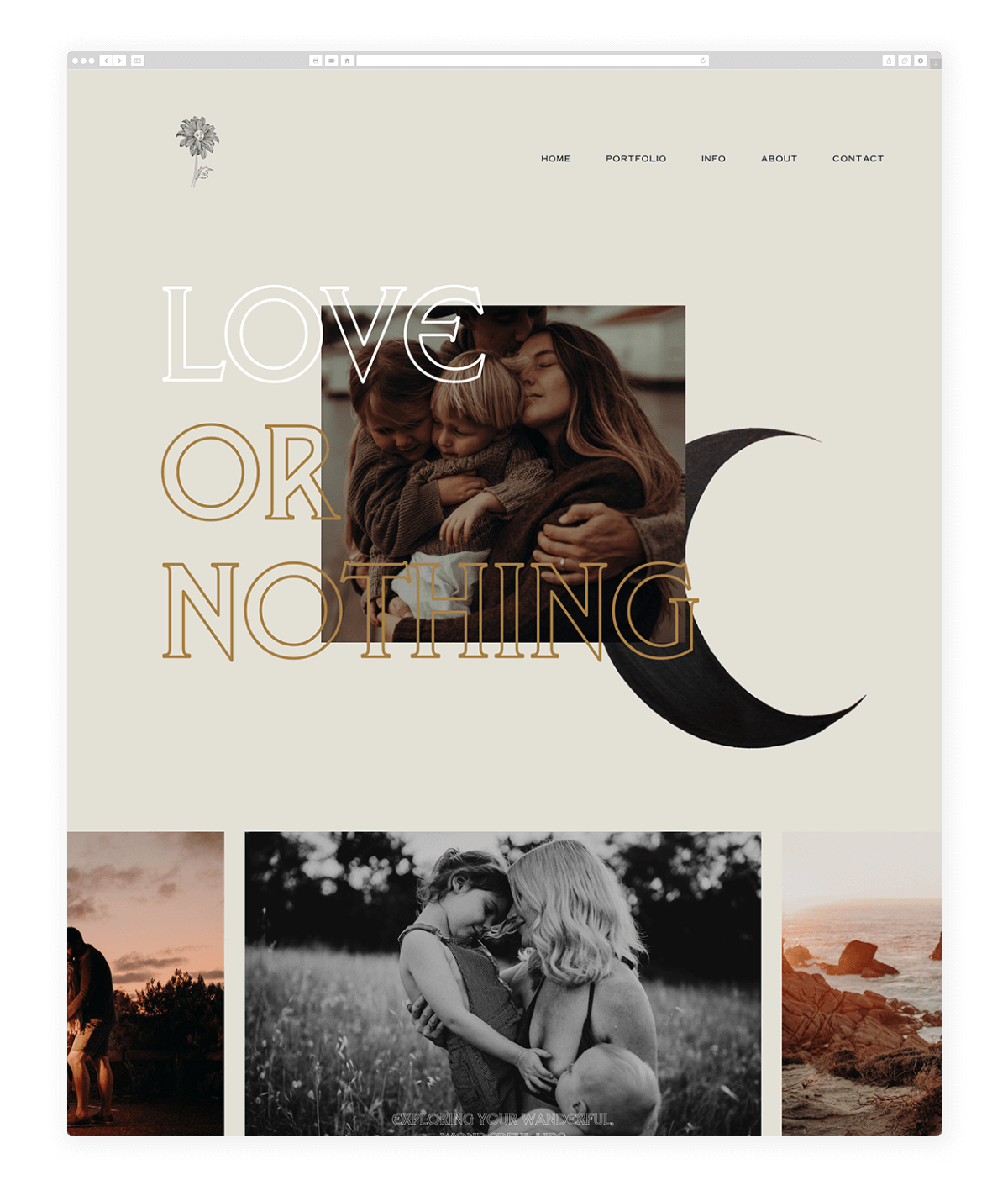 laluphoto-website design flothemes