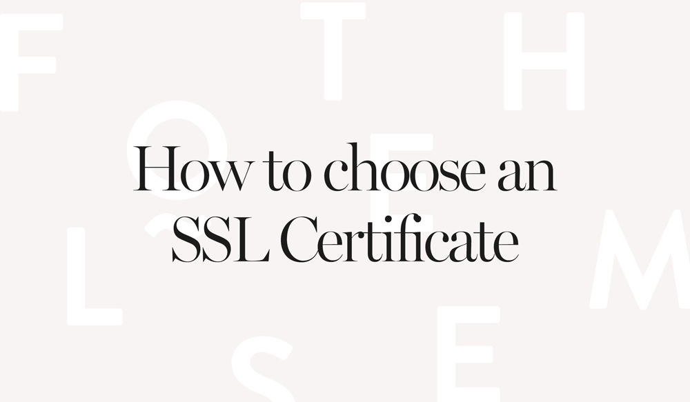 Which Ssl Certificate Is The Best For Your Business Flothemes