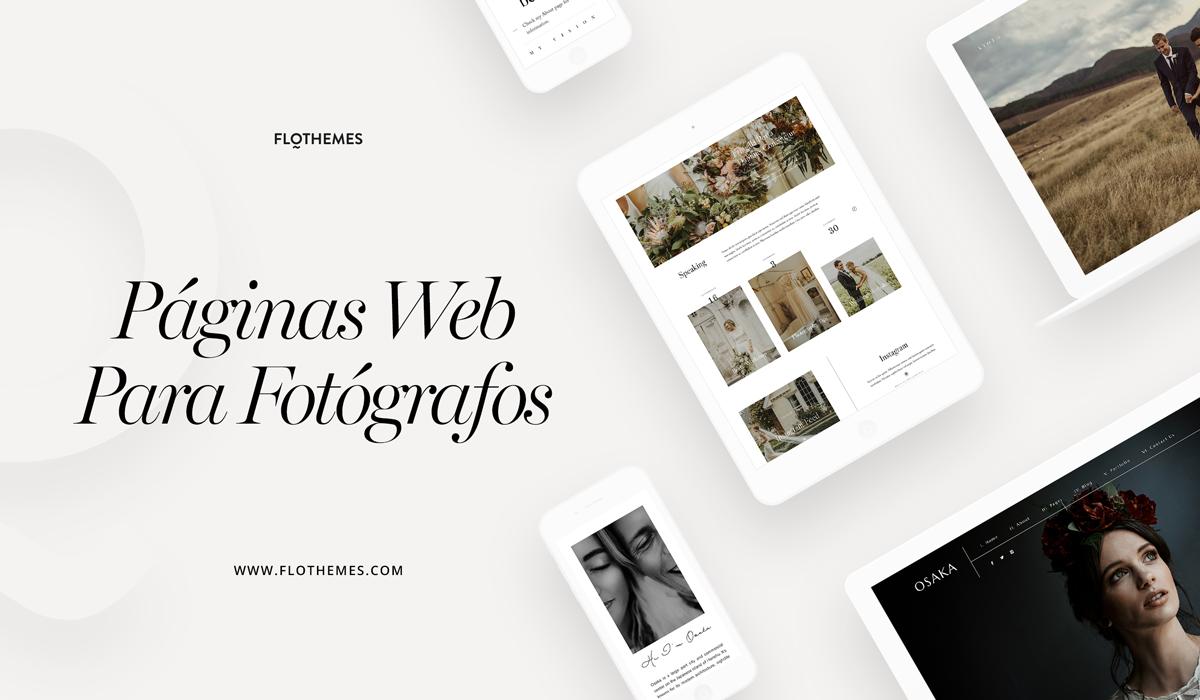 ¿Por qué elegir Flothemes para tu sitio de Fotografía?