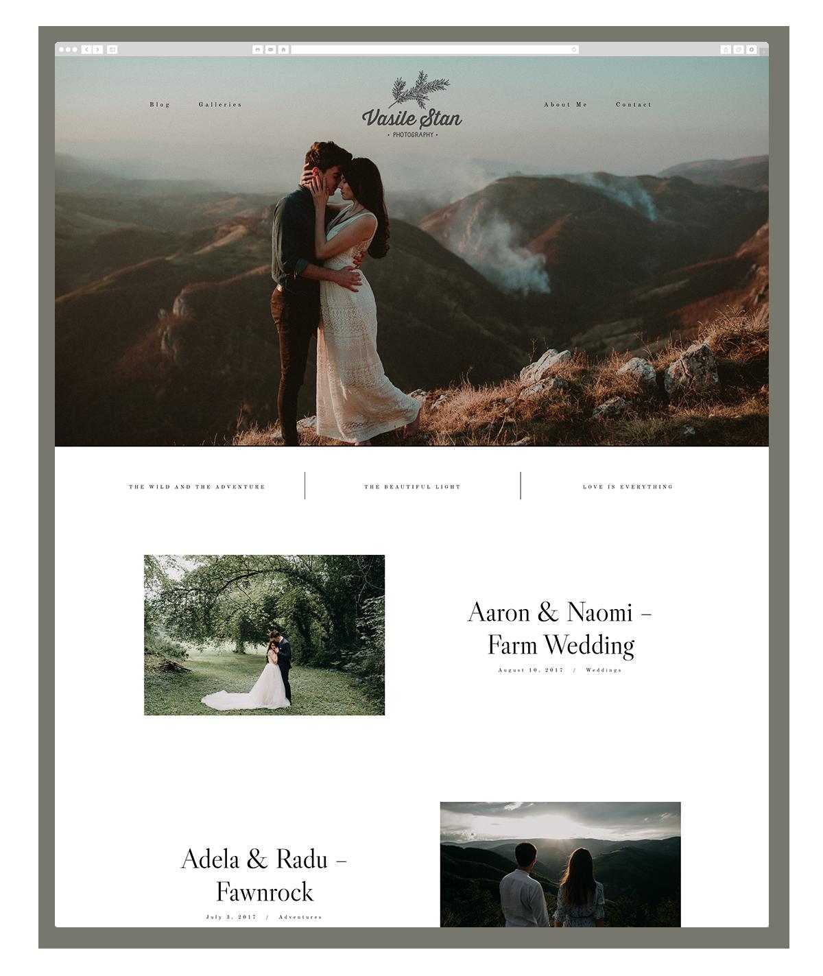 kyoto-website design, theme, wedding photography, site design, flothemes-vasile-stan