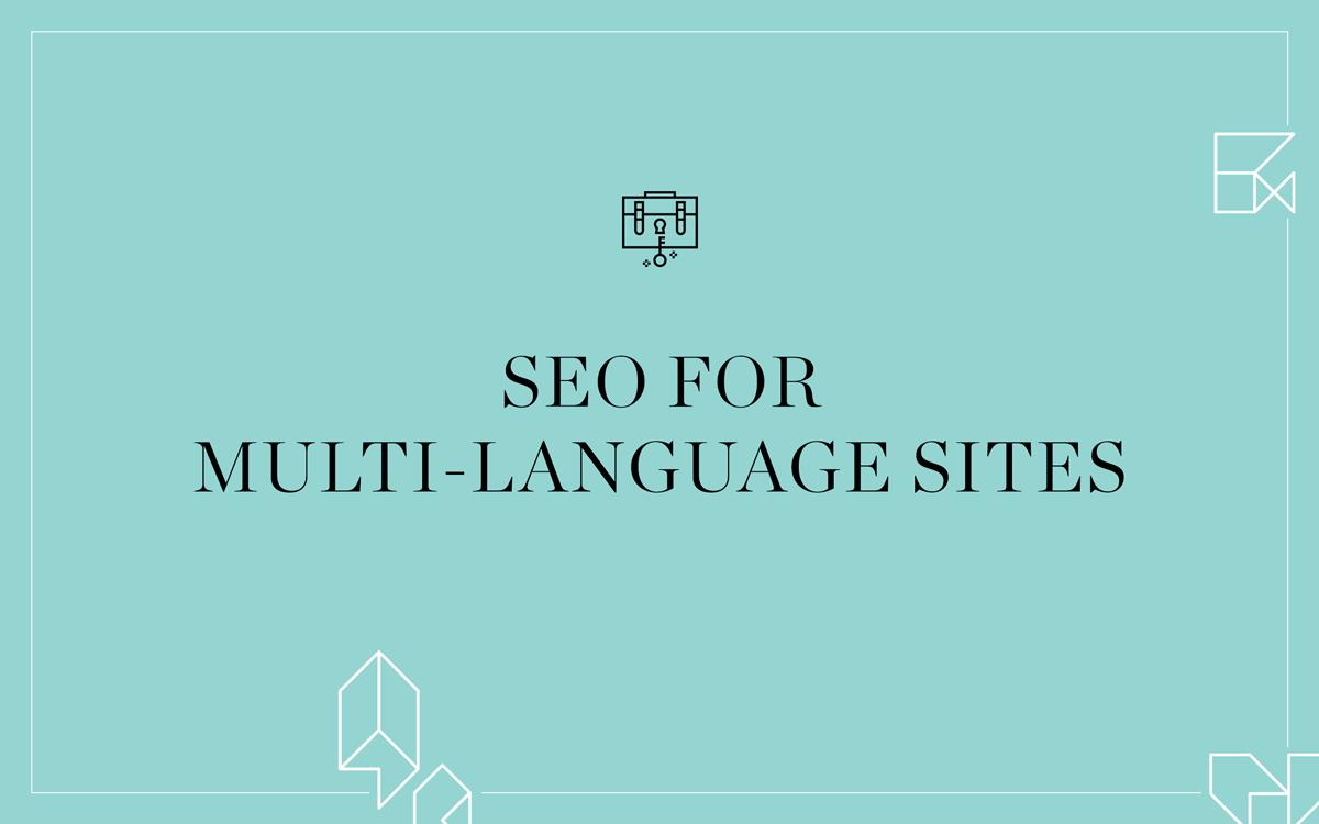 seo for multi language sites