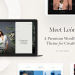 León: A Trendy Multi Purpose Theme For Photographers!