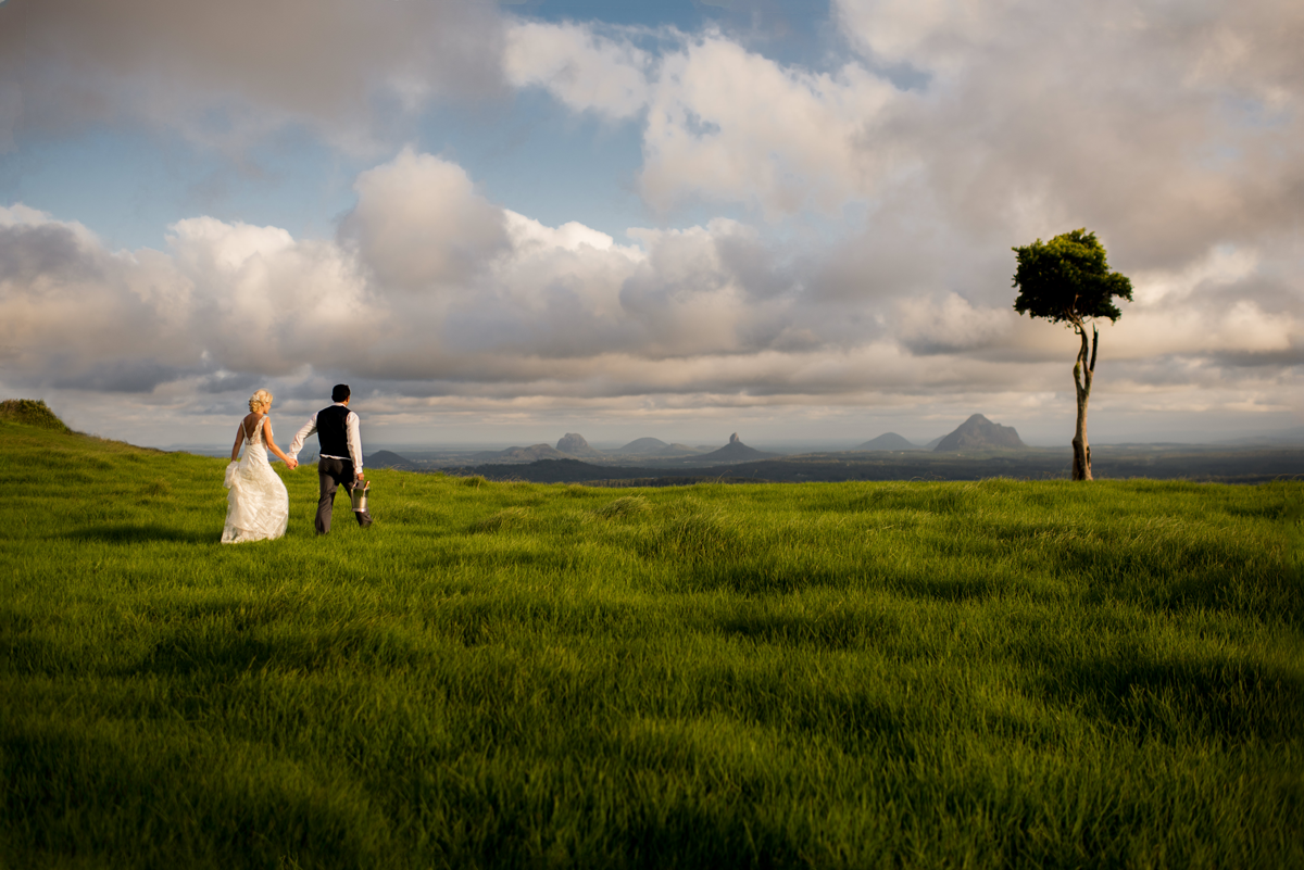 book your first Destination Wedding in just 10 days, Maleny, Australia