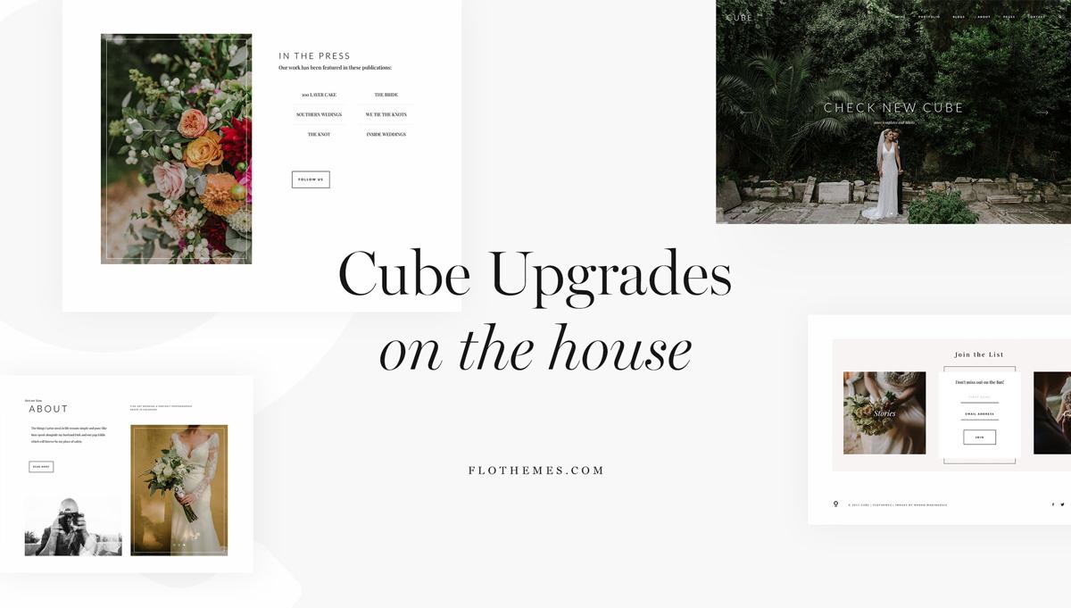 Cube theme-upgrades-featured- flothemes