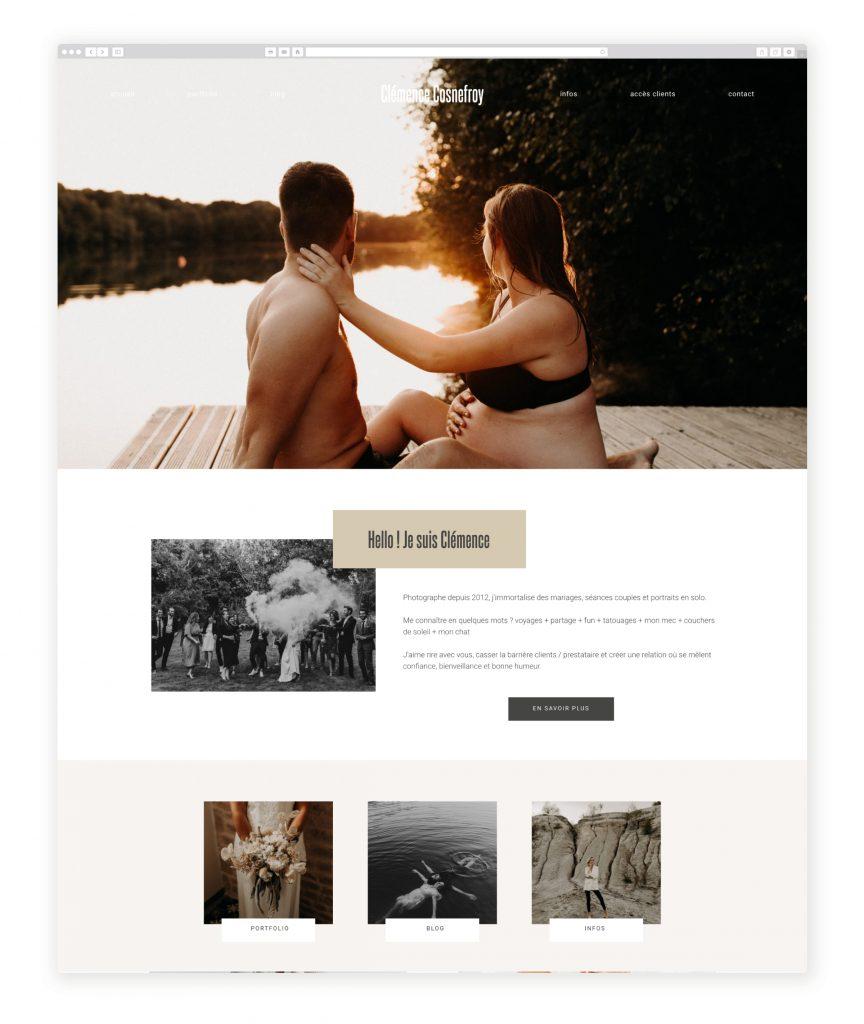 Clémence Cosnefroy  photography website