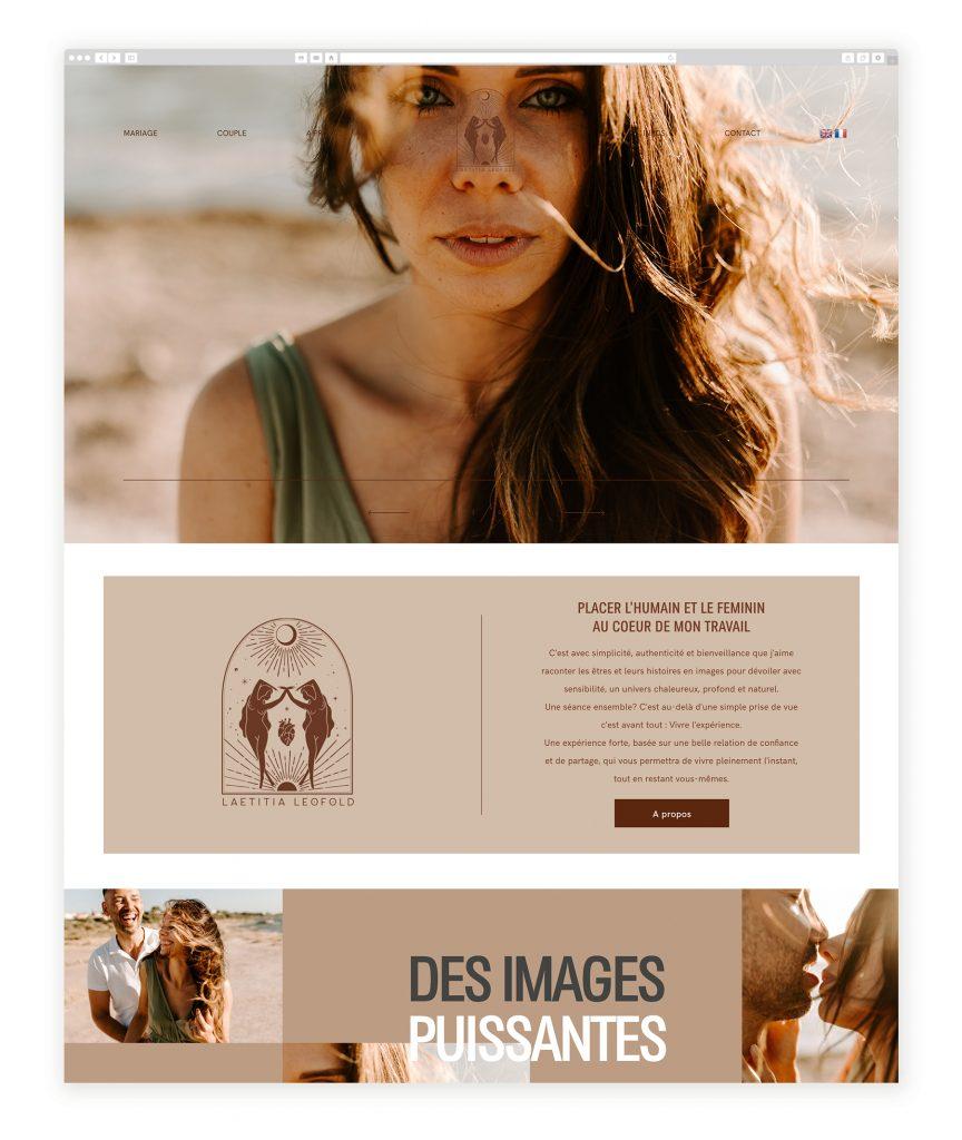 Laetitia Leofold photography website