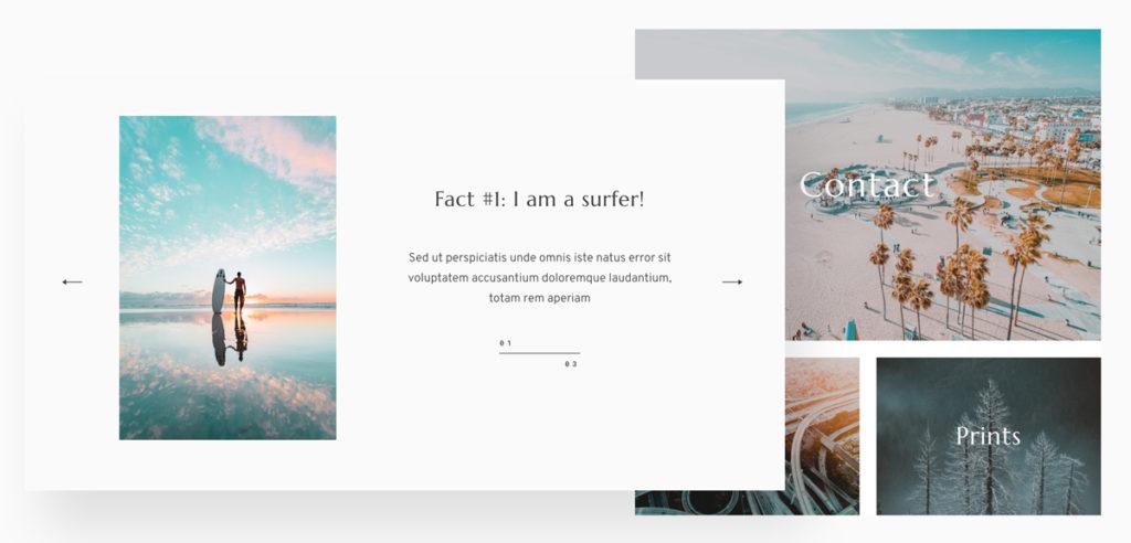 Meet Fiji 2 - Best website design for travel, lifestyle, wedding photographers & bloggers-Layouts-&-Style3