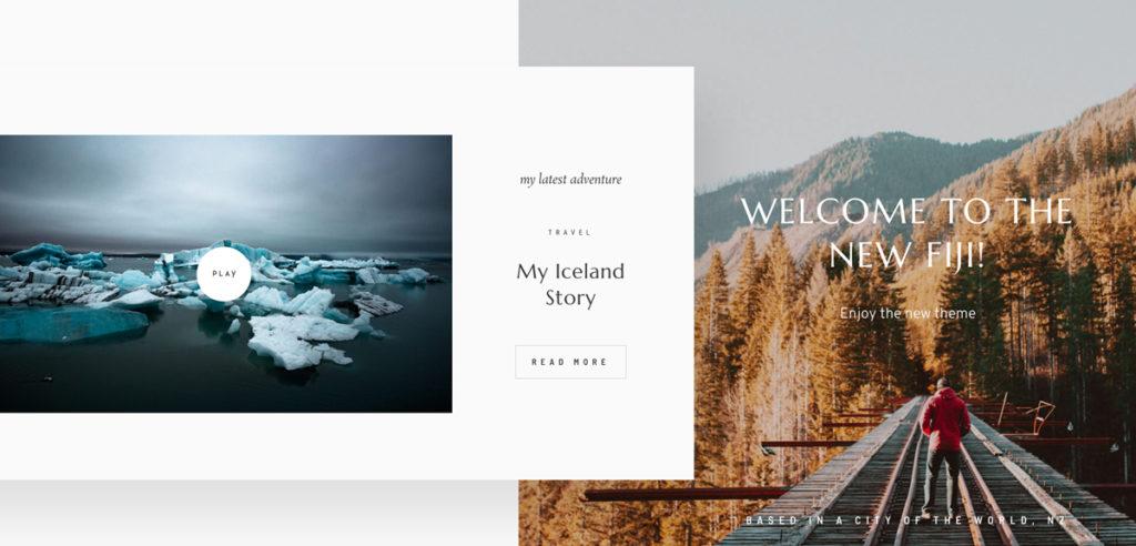 Meet Fiji 2 - Best website design for travel, lifestyle, wedding photographers & bloggers-Layouts-&-Style1