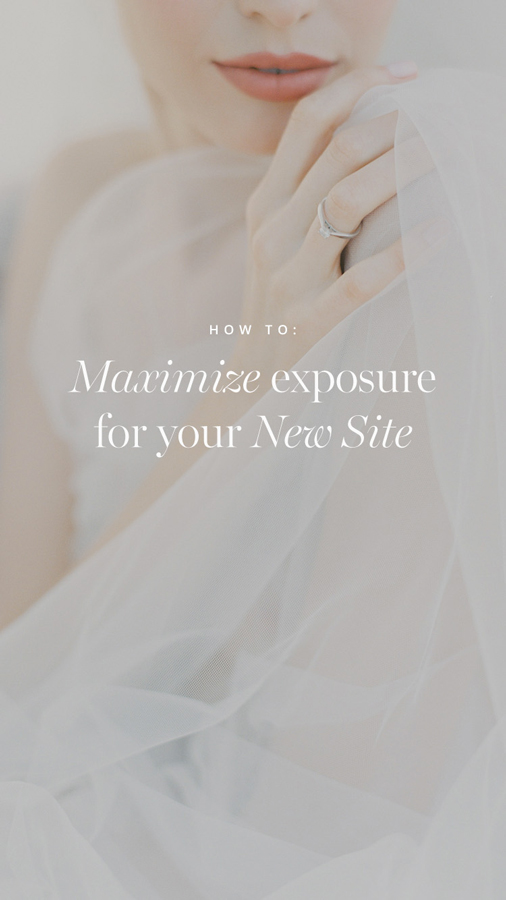 How to share your new site and get maximum exposure, flothemes, Nastia Vesna Photography image, flothemes