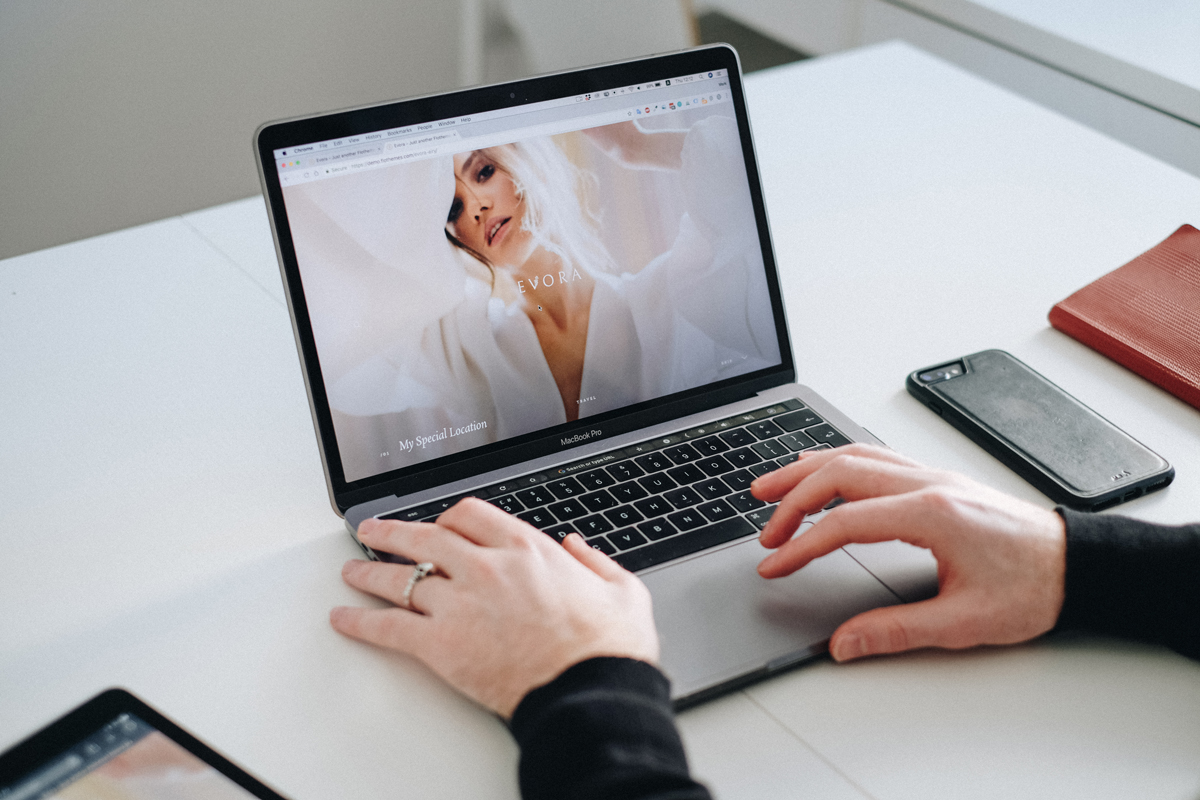 how-to share your new website and get-maximum-exposure, social media sharing, responsive website, Evora theme, Nastia Vesna Photography