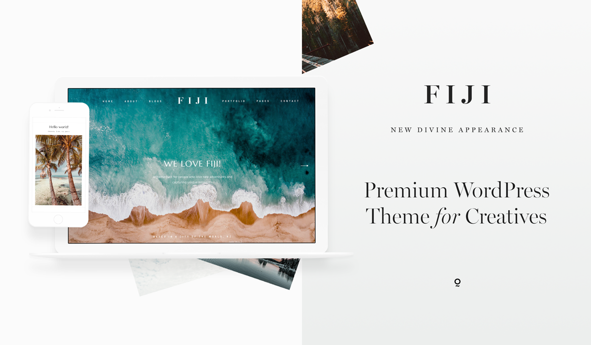 Meet Fiji 2 - Best website design for travel, lifestyle, wedding photographers & bloggers!