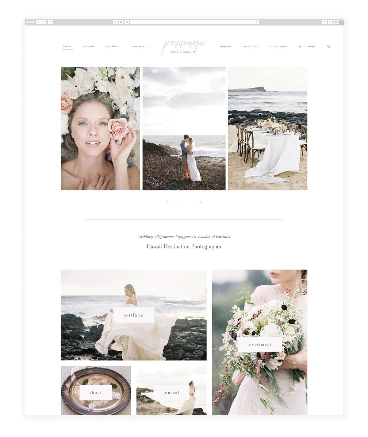 wedding-photography-website-jeannemariephoto.com