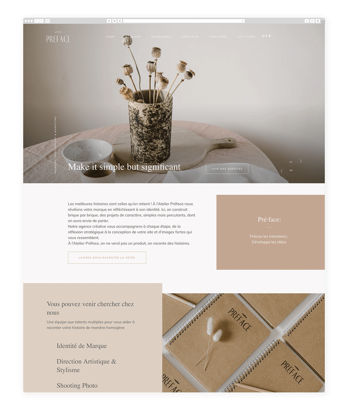 atelier-website-atelierpreface.com