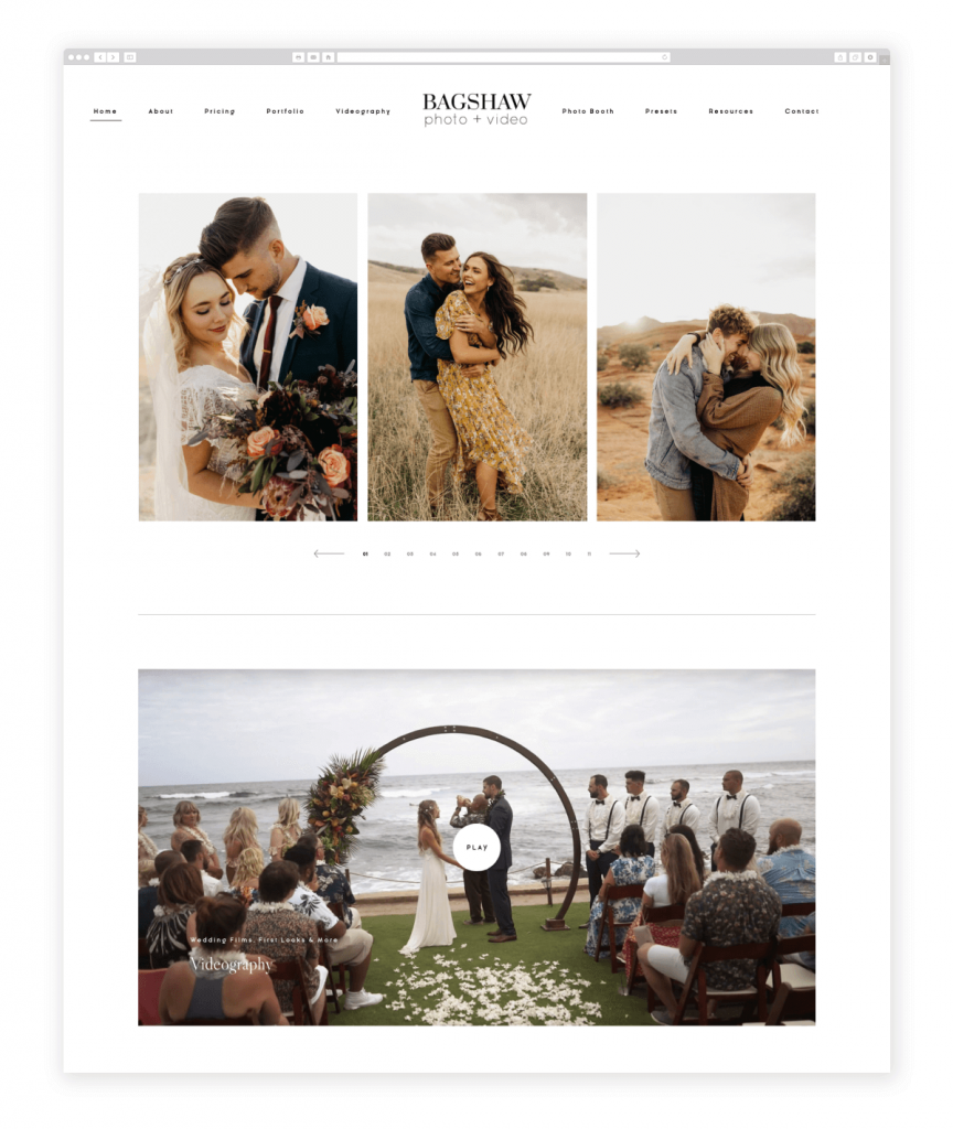 bagshaw-photo-and-video-videography-website