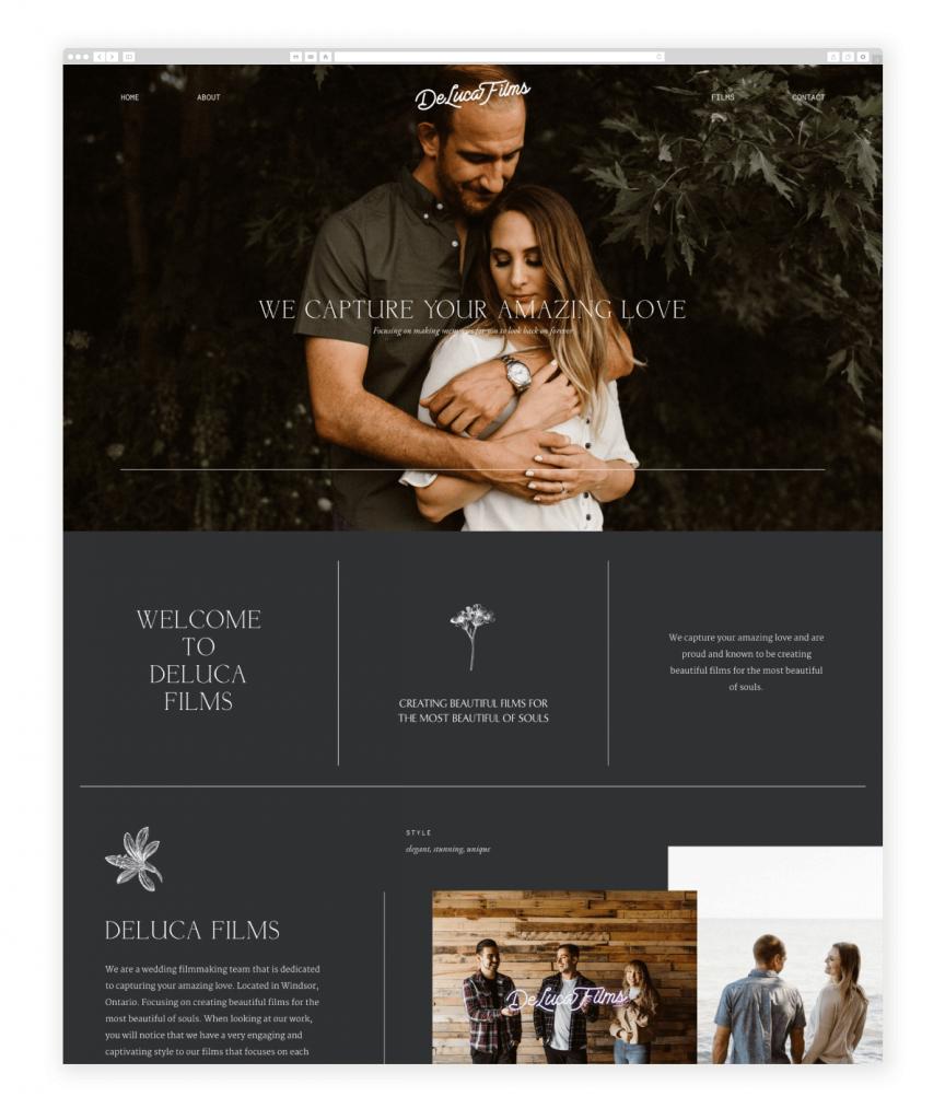 deluca-films-videography-website