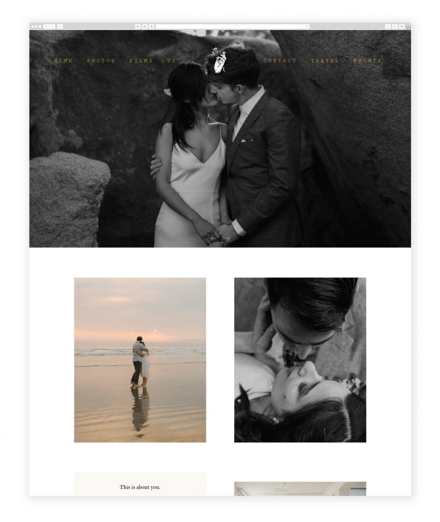 the-arroyos-videography-website