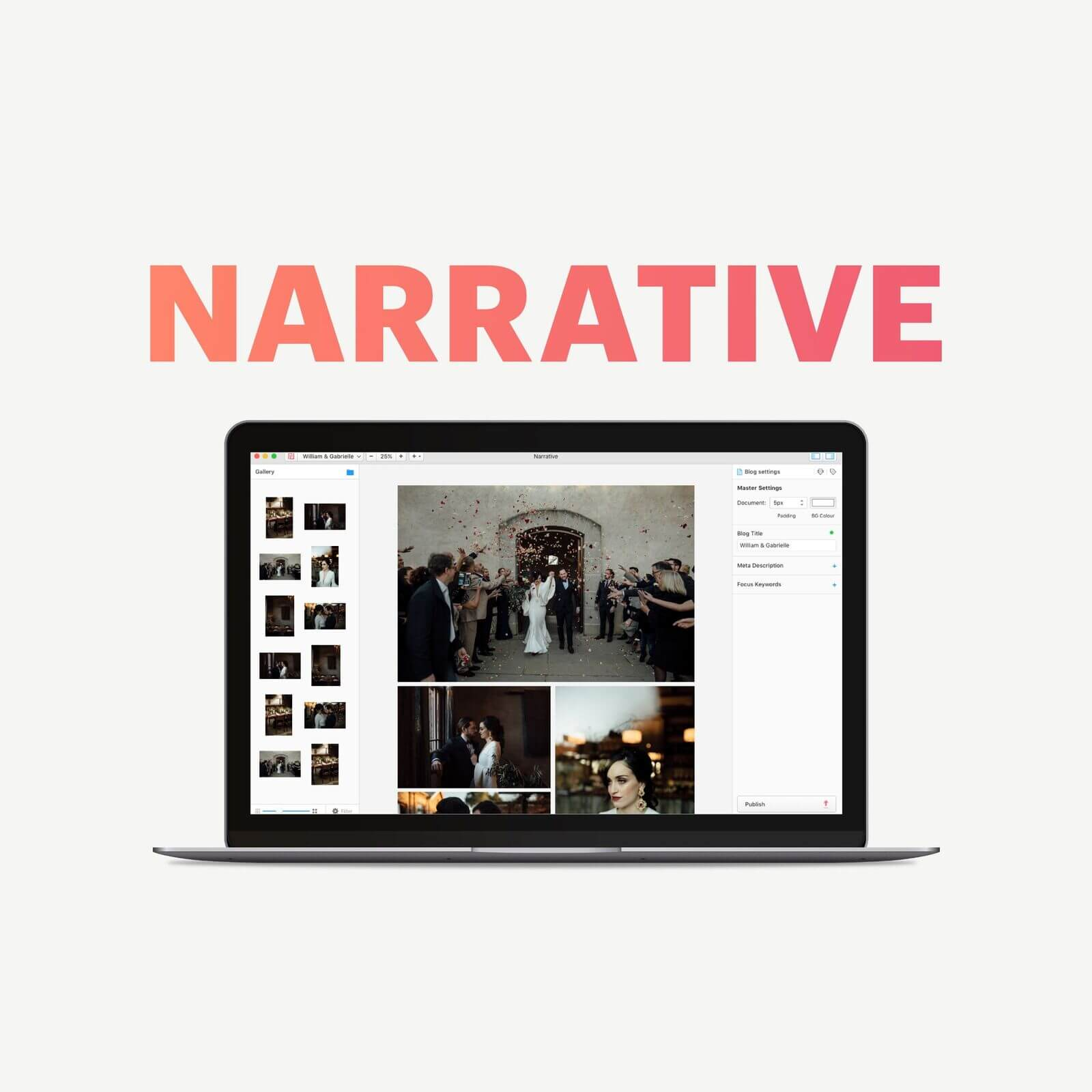 Best tool to create Image Blog Posts -Narrative, Flothemes Review