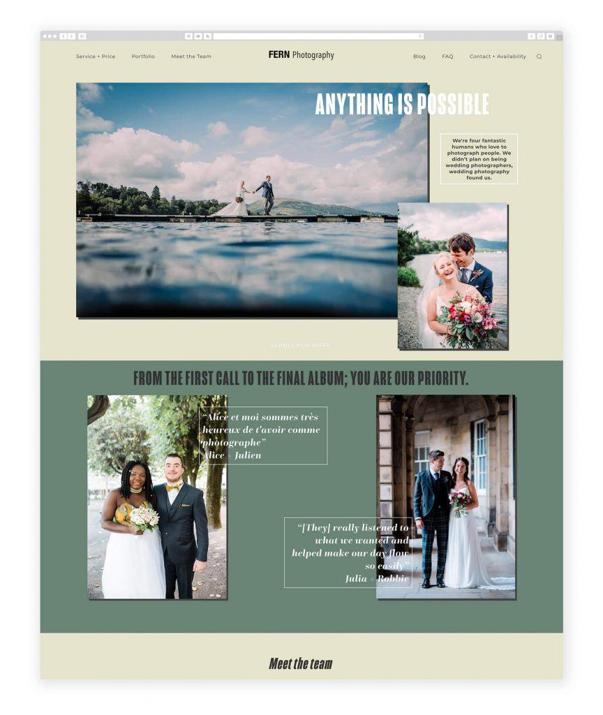 Fern Photography UK photography website