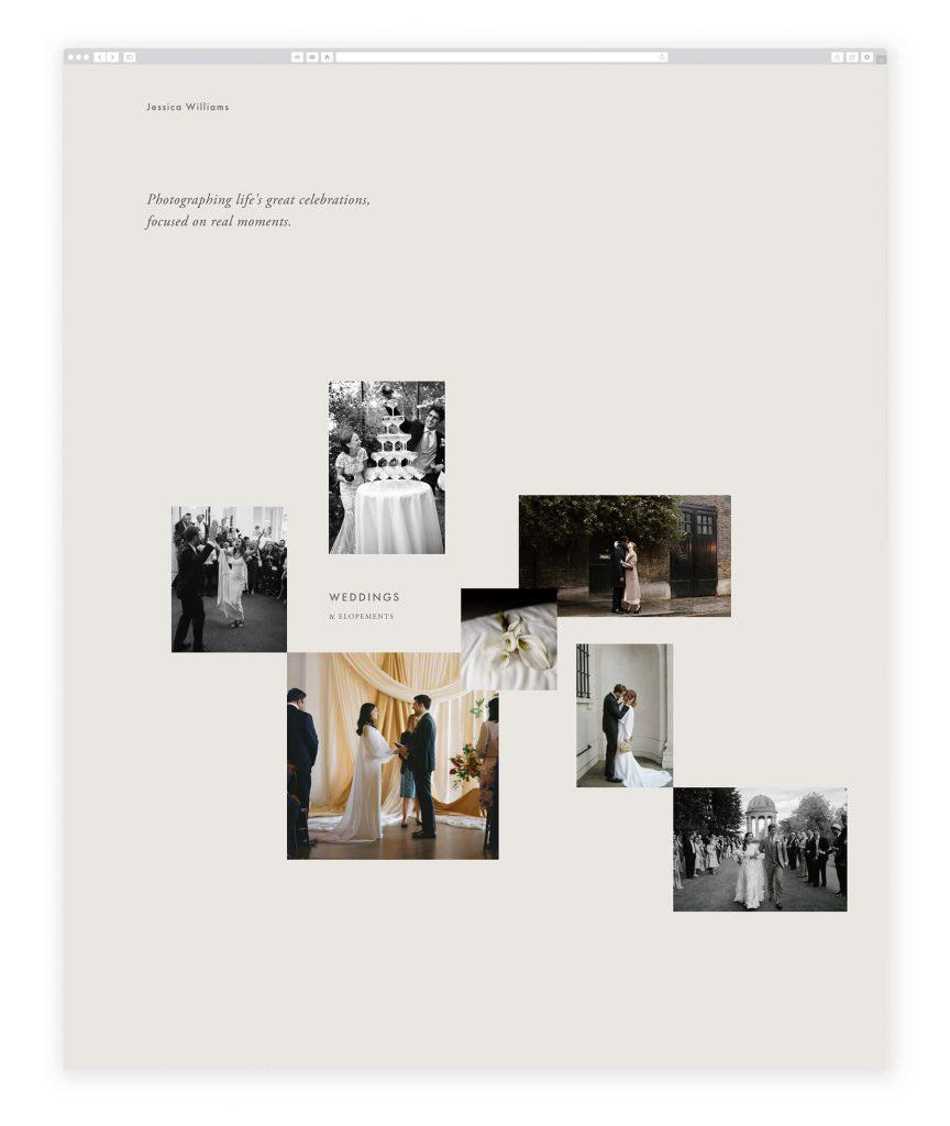 Jessica Williams UK photography website
