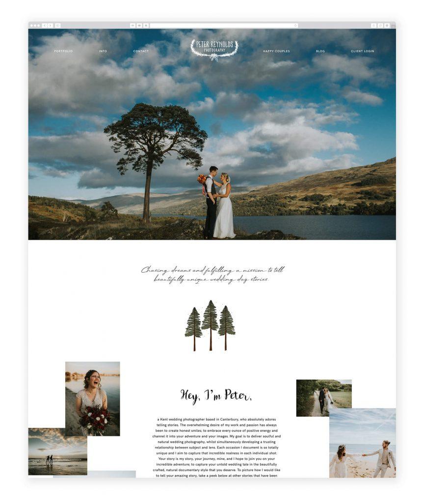 Peter Reynolds UK photography website